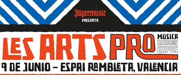 Festival de les Arts lanza el cartel de les Arts PRO junto a Jägermusic
