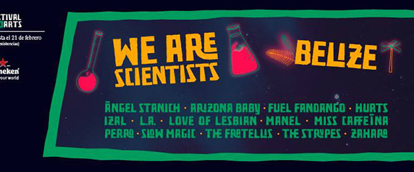We Are Scientists y Belize se unen al Festival de Les Arts vol. 2