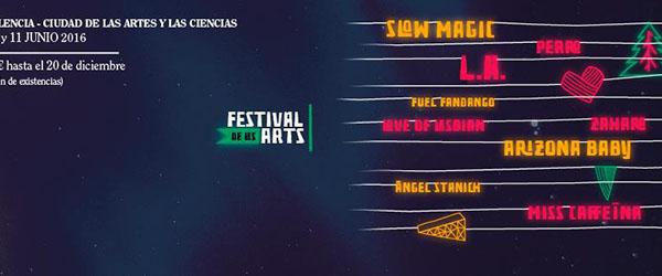 Festival de les Arts: nueva confirmació